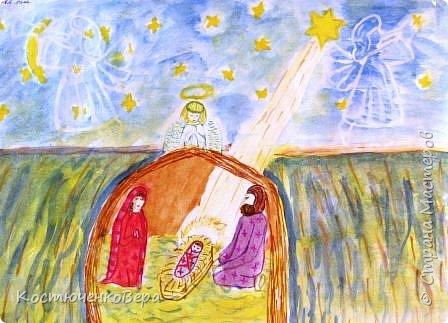 С детьми на внеурочном занятии сделали рисунки ко Дню матери. Работали несколько занятий вложили много сил! Автор Ковылина Алина, 5 класс Мамин сыночек. фото 6