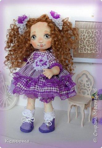 Куколки текстильные. фото 8