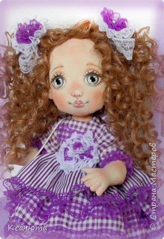 Куколки текстильные. фото 9