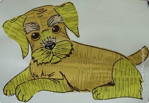Скоро собачий новый год. Приглашаем на выставку собак. Породистость - газетная. фото 4