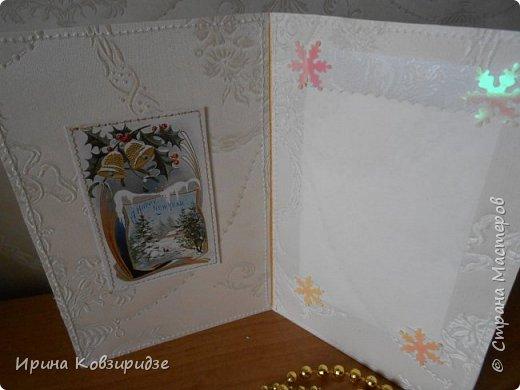 """Это 3 открытки """"Птицы зимой"""" фото 4"""