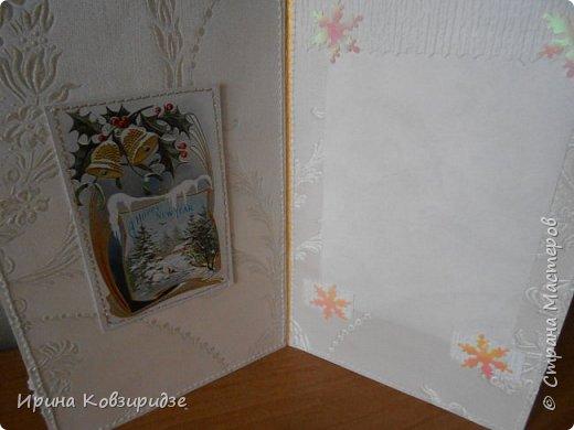 """Это 3 открытки """"Птицы зимой"""" фото 6"""