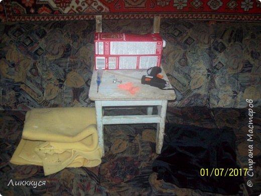 на балконе нашла старый стульчик и решила обновить его фото 2