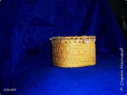 Шкатулки- резьба по бересте. фото 3