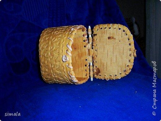 Шкатулки- резьба по бересте. фото 4