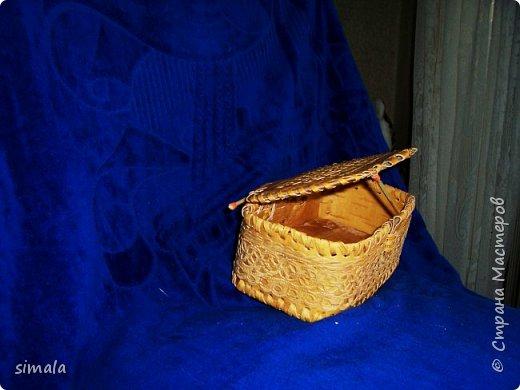 Шкатулки- резьба по бересте. фото 6