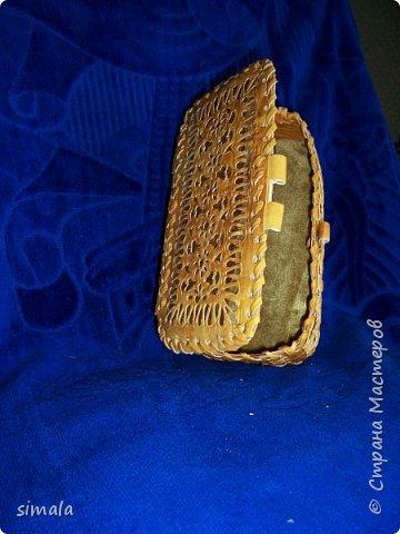 Шкатулки- резьба по бересте. фото 9