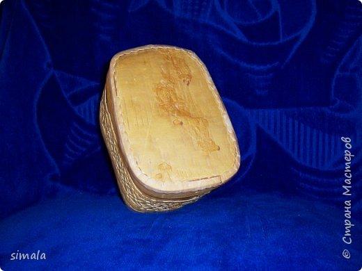 Шкатулки- резьба по бересте. фото 17