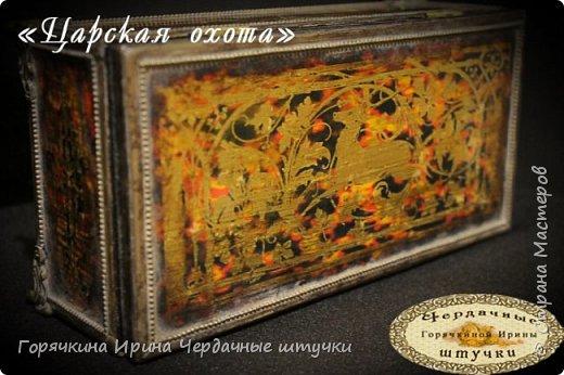 """Шкатулка """"Царская охота"""" фото 22"""