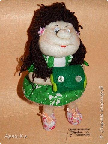 "Новогодняя куколка ""Алиса"" фото 1"