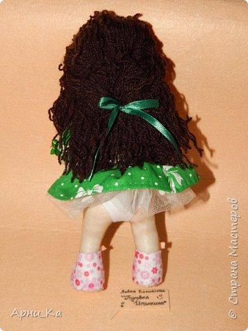 "Новогодняя куколка ""Алиса"" фото 2"