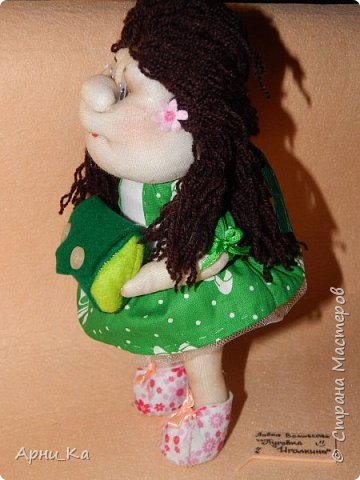 "Новогодняя куколка ""Алиса"" фото 3"