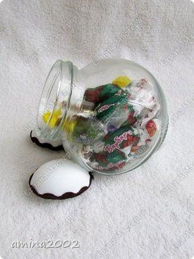 Добрый день! Баночки упаковки для подарков. Баночки 150 мл.Крышка в форме животного/насекомого из фоамирана. фото 6