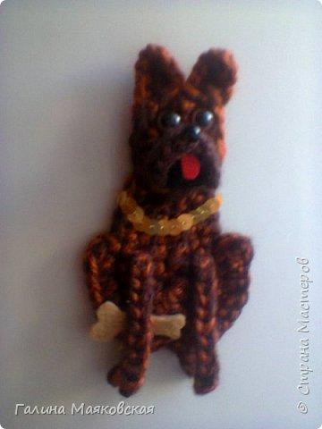 Привет всем!  Сегодня на повестке дня (или ночи!)  - собачки-магнитики.  Ничего объяснять не буду, просто смотрите и получайте удовольствие. фото 14