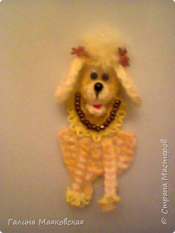 Привет всем!  Сегодня на повестке дня (или ночи!)  - собачки-магнитики.  Ничего объяснять не буду, просто смотрите и получайте удовольствие. фото 17