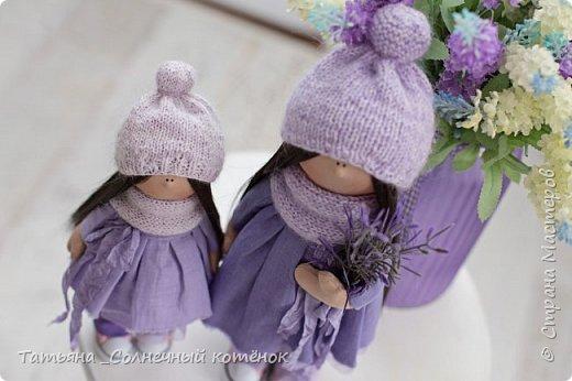 Текстильные куколки мама с дочкой Надежда и Любаша фото 2