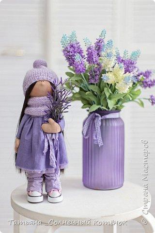 Текстильные куколки мама с дочкой Надежда и Любаша фото 3