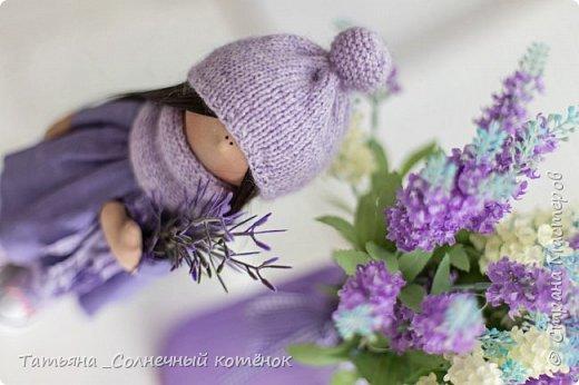 Текстильные куколки мама с дочкой Надежда и Любаша фото 5