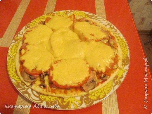Пицца, которую может сделать любой школьник. фото 1