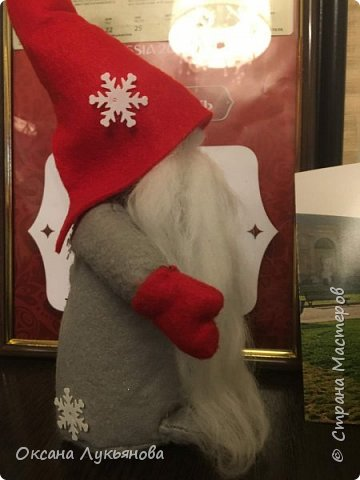 """Рождественский венок """"Вдохновение"""" фото 6"""