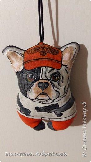 Собачка с подвеской.  фото 1