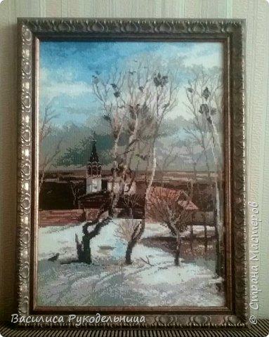 Грачи прилетели по картине А.К.Саврасова