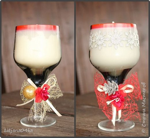 Каждый год создаю свечи в подарок,,,в этом году попыталась сделать декор из  ниток,,и всё равно вернулась к яркому  оформлению,,, фото 4
