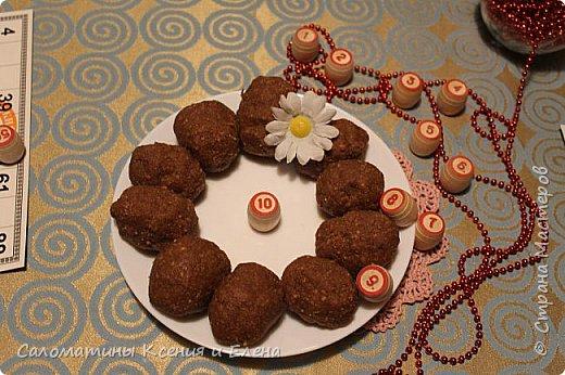 """Вечерком, решели поиграть в семейную игру и попить чая с прекрасными пироженками (собственного приготовления) """"Картошка""""  И поздравить замечательный сайт с юбилеем! фото 2"""