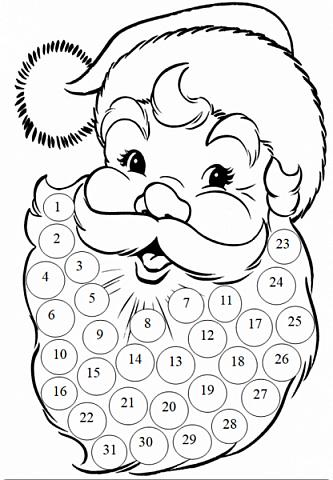 Года 2 назад  увидела календарь с днями ожидания Нового года. И каждый раз забывала сделать. А тут и ребенок такого возраста, когда уже понимает, и чтобы было легче считать и более наглядно, решила сделать, хотя еще вопрос кто больше ждет, ребенок или взрослый. Идея с дедом морозом не моя, а вот снеговика (может и они есть, но я не встретила) моя задумка. Так что если Вам интересно, предлагаю МК как я их делала. фото 32