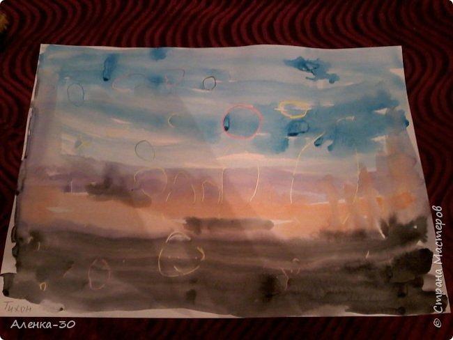 Выставляю работы моего сынули которые он творит в музыкальной школе. фото 1