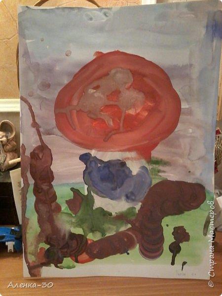 Выставляю работы моего сынули которые он творит в музыкальной школе. фото 5