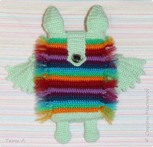 Чехол (Летучая мышка) связанна по заказу дочьки фото 2
