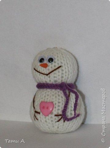 снеговики (игрушка на елку) фото 3