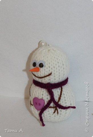 снеговики (игрушка на елку) фото 5