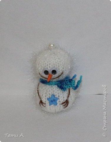 снеговики (игрушка на елку) фото 6