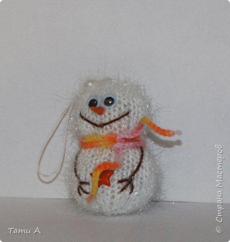 снеговики (игрушка на елку) фото 7