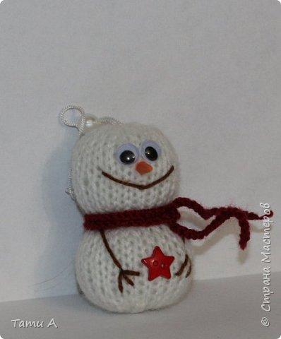 снеговики (игрушка на елку) фото 8