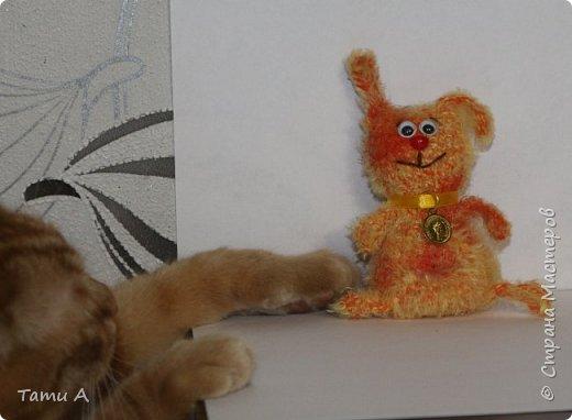 Собачки (игрушки на елку или брелочек) фото 6