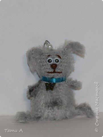 Собачки (игрушки на елку или брелочек) фото 10