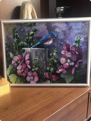 Картины акварелью, моя Деревня  фото 10