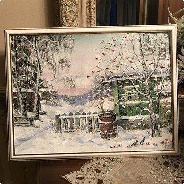 Картины акварелью, моя Деревня  фото 9