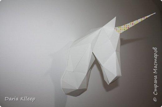 DIY : ЕДИНОРОГ своими руками // 3D Papercraft Unicorn фото 2
