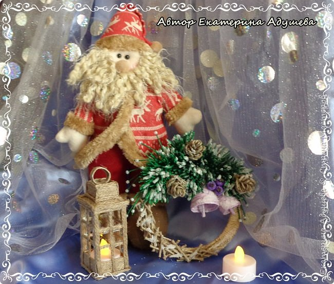 Здравствуете все кто заглянул на маю страничку!!!  Скоро Новый год, время сюрпризов и подарков, вот и пришла пора на их изготовление, решила в этом году а точнее на конец этого года сделать снежинки и декоративные веночки из льняного и джутового шпагата. фото 2