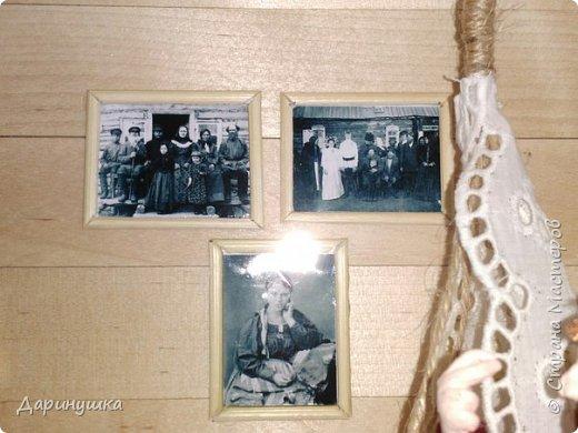 """Румбокс был сделан для участия в православном конкурсе - """" Пасхальное яйцо """". Картина с подсветкой. Дрова в печке """"горят"""", от икон исходит свечение. фото 10"""