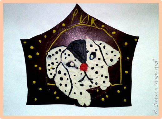 Продолжаем серию новогодних портретов, рисуем собачку. фото 17