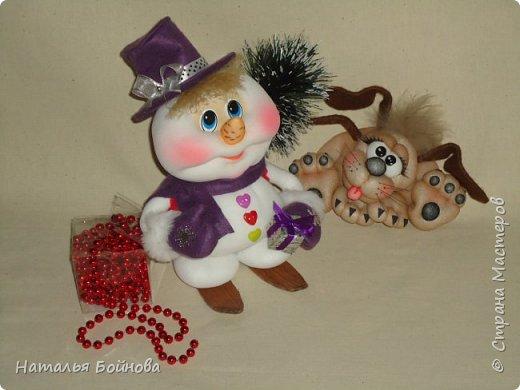 Весёлые Снеговики с подарками фото 1
