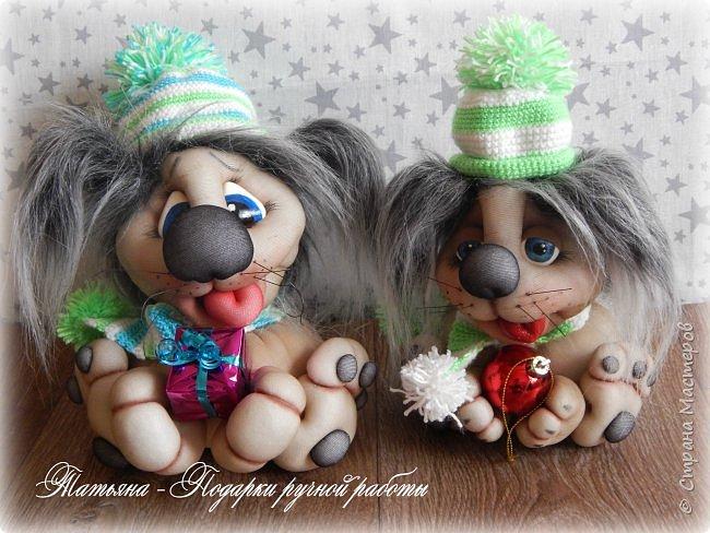 Милые собачки к новому году фото 1