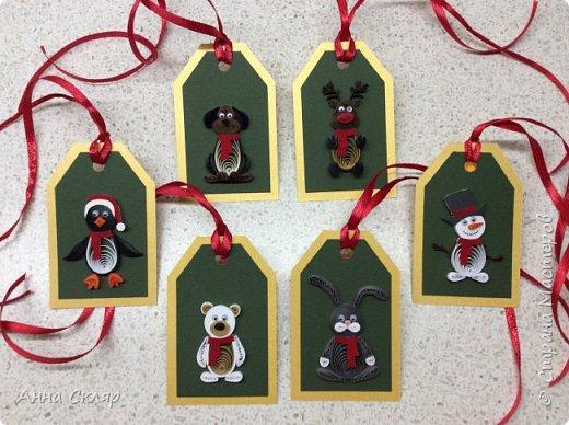 Бирки для новогодних подарков фото 3