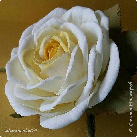 Цветы из фоамирана фото 3