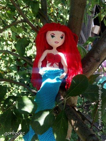 Эта куколка русалочка связалась еще летом для племянницы мужа. фото 1